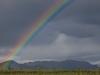 Regenbogen-Wetter im Denali