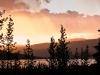 Der Wonder Lake im Abendlicht