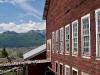 Blick von der McCanthy Kupfermine auf den Wrangell St. Elias National Park