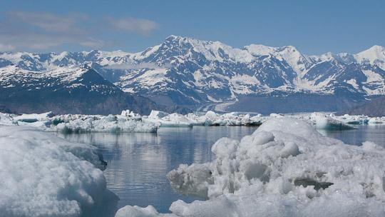 Abschied vom Columbia Glacier
