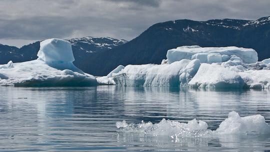 Skulpturen aus aus Eis ...