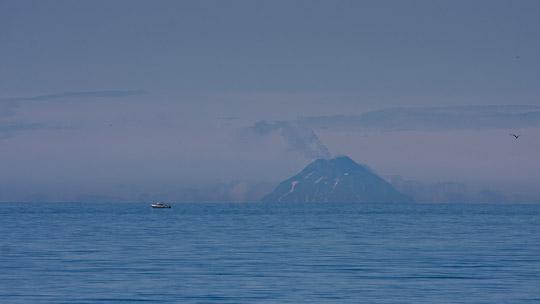 Homer Spit - Der Augustine Volcano