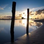 Der Strand von Sankt Peter–Ording an der Nordsee