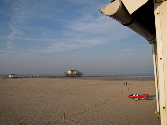 Der Strand von Sankt Peter-Ording
